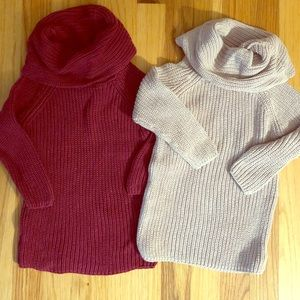 Old Navy Turtleneck Sweaters LOT- 2T TWINS
